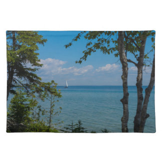 Sailing At Mackinac Placemat
