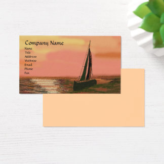 Sailing at Sunset Business Cards