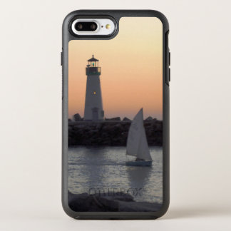 Sailing at Twilight at Santa Cruz Harbor OtterBox Symmetry iPhone 7 Plus Case