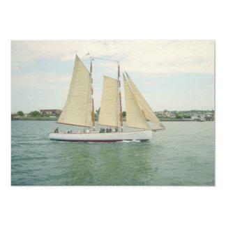 Sailing Away Invitation