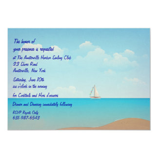 Sailing Away Invitation