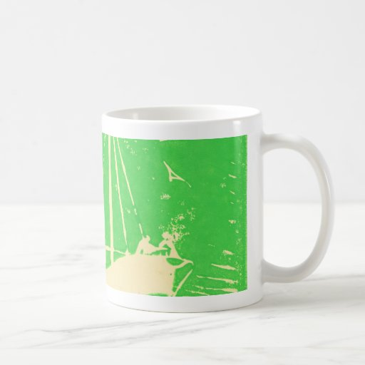 Sailing away coffee mugs