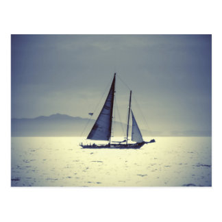 Sailing Away Postcard