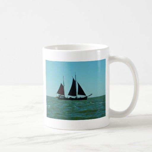 Sailing barge coffee mug