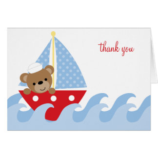 Sailing Bear Note Cards