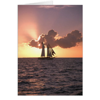 Sailing (blank card) card