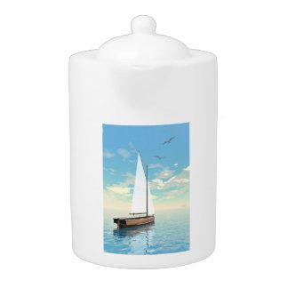 Sailing boat - 3D render