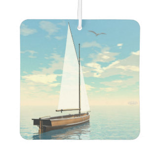 Sailing boat - 3D render Air Freshener