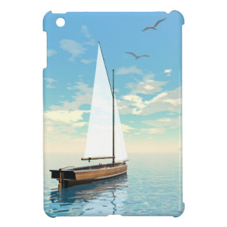 Sailing boat - 3D render iPad Mini Covers