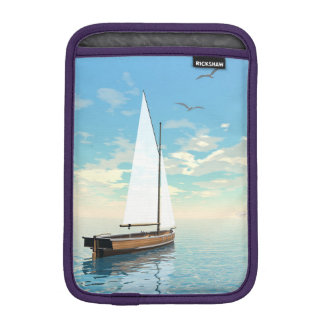 Sailing boat - 3D render iPad Mini Sleeve