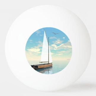 Sailing boat - 3D render Ping Pong Ball