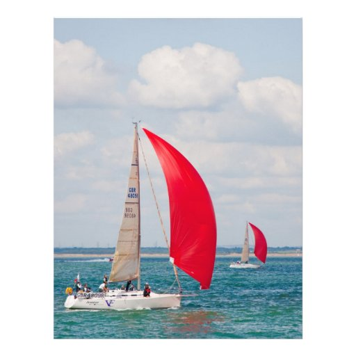 Sailing Boat Personalized Letterhead