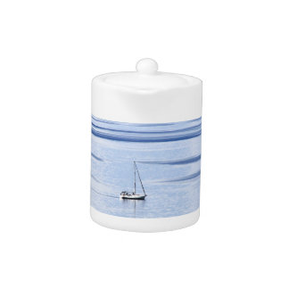Sailing boat on sea, Nautical, blue water sky
