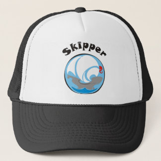 Sailing boat Skipper Trucker Hat