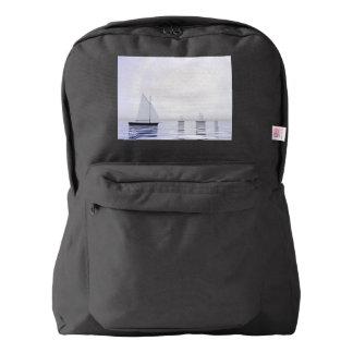 Sailing boats - 3D render Backpack