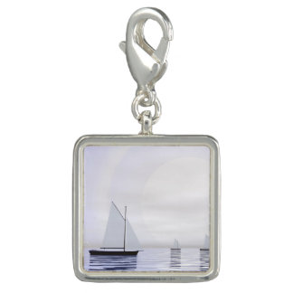 Sailing boats - 3D render Charms