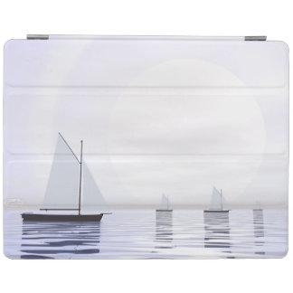 Sailing boats - 3D render iPad Cover