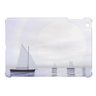 Sailing boats - 3D render iPad Mini Cover