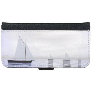Sailing boats - 3D render iPhone 6 Wallet Case