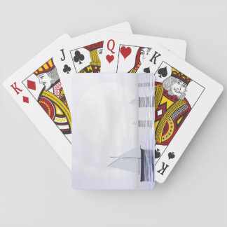 Sailing boats - 3D render Playing Cards