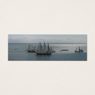 Sailing Boats and Ships on Sea Bookmarks Cards