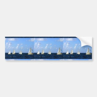 Sailing Boats Bumper Sticker