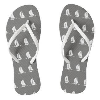 Sailing Boats Flip Flops