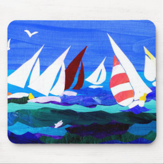 'Sailing Boats' mousepad