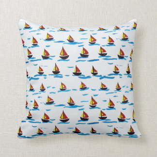 Sailing Boats Pillow