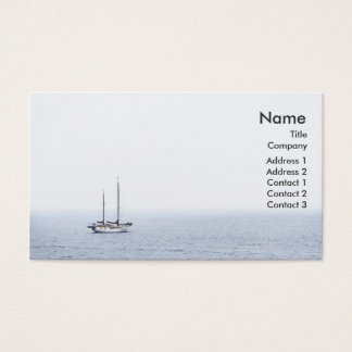 """Sailing"" Business Profile Card"