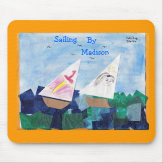 Sailing By Madison Mouse Pad