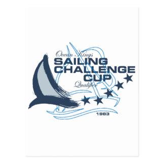 Sailing Challenge Postcard