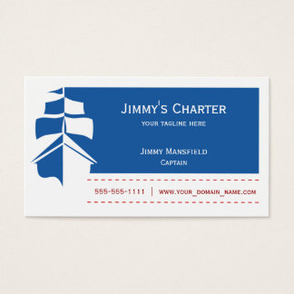 Sailing / Charter Business Card