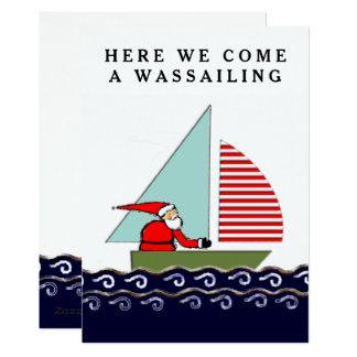 Sailing Christmas cards