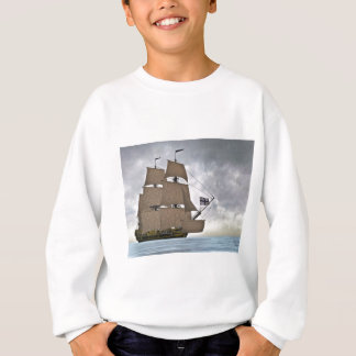 Sailing Corvette on a Gorgeous Day Sweatshirt