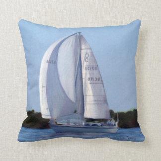 Sailing Drawing Pillow