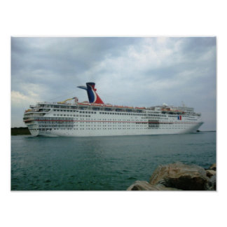 Sailing from Port Canaveral Poster