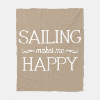 Sailing Happy Blanket - Assorted Sizes & Colors