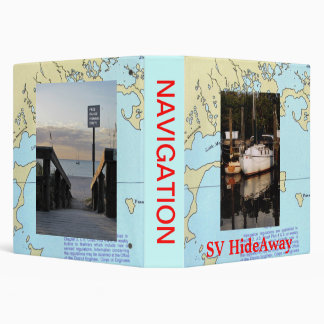 Sailing HideAway Navigation Binder