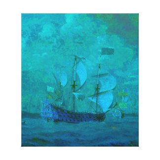 Sailing in Calm Waters Gallery Wrap Canvas
