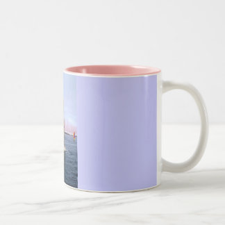 SAILING IN GUERNSEY Two-Tone COFFEE MUG