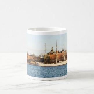 Sailing in Stockholm, Sweden Coffee Mug