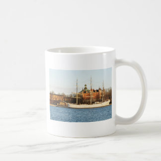 Sailing in Stockholm, Sweden Coffee Mug