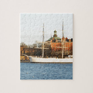 Sailing in Stockholm, Sweden Jigsaw Puzzle