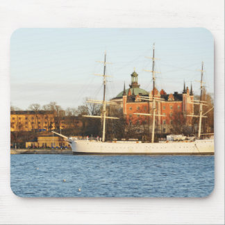 Sailing in Stockholm, Sweden Mouse Pad