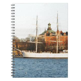 Sailing in Stockholm, Sweden Notebook