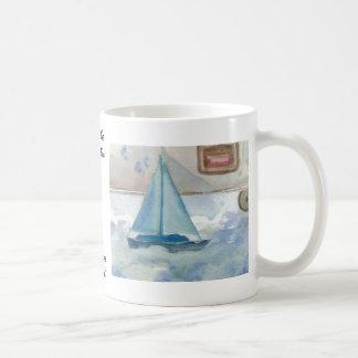 Sailing in the Big, Big Sea CricketDiane Ocean Art Coffee Mug