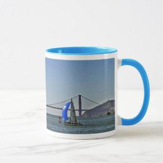 Sailing in the San Francisco Bay Mug