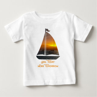 Sailing into the Sunset Baby T-Shirt
