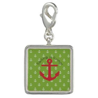 Sailing is living! charm